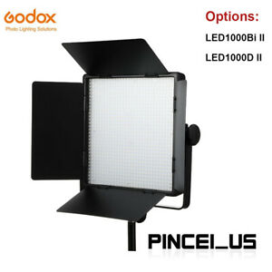 Godox LED1000 LED Video Light Photography Fill Light Panel W/ Remote Control