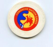$1.00 Chip. Comanche Nation Games . Lawton , OK.