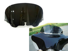 "MOTORCYCLE BLACK ABS 8"" WINDSCREEN WINDSHEILD FOR HARLEY FLHT/C FLHX TOURING 96-"