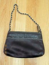 CHANEL Handbag - Black Butter Soft Leather Zip Closure Evening Bag