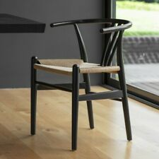 Frank Hudson Gallery Direct Set of 6 Whitley Black Dining Chair
