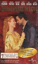 Shakespeare in Love (1998) VHS Universal Cofanetto 2 vhs + poster - NEW