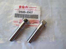 (2) NOS SUZUKI STEERING STEM FORK PINCH BOLTS GT250 GT380 GT550 GT750 GT 250 550