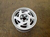 """Aluminum Wheel 17"""" x 9.5"""" Rim RH Passenger 1989 OEM C4 Corvette - ORIGINAL"""