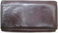 -AUTHENTIQUE portefeuille - porte-monnaie BORGO SENESE    cuir  TBEG vintage