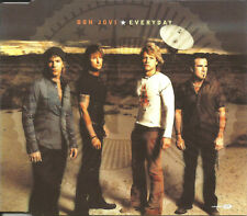 BON JOVI Everyday 4TRX w/ 2 DEMO & VIDEO Europe CD single SEALED USA Seller 2002