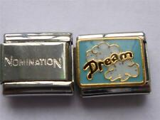 GENUINE ITALIAN CHARM CLASSIC & UNBRANDED SILVER DREAM IN CLOUDS LINK CHARM AO4