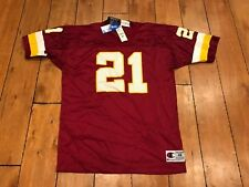 Washington Redskins #21 Terry Allen Jersey Signed AUTO Champion 48 NEW W/ TAGS