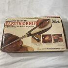 Vintage Hamilton Beach Electric Knife 293AL W/ Storage Tray & Rotating Blades