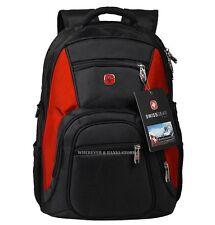 """Men Backpack Laptop Computer Swissgear Outdoor Book School Travel satchel 15""""D3R"""