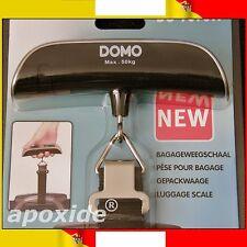 DOMO® DO-9090W★PESA BAGAGLI DIGITALE da VIAGGIO LCD con TERMOMETRO★FINO A 50Kg!