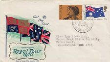 Aust. 1970 Royal Visit (Wcs) Fdc Addressed (Ds)