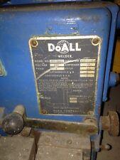 DoAll saw blade welder, HSW 5000, 220 volt 1 phase,