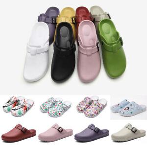 Womens Mens Medical Shoes Anti-slip Light Shoes Slippers Doctor Nurse Hospital
