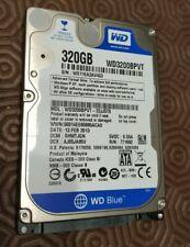 """Western Digital Scorpio Blue 320GB,Internal,5400 RPM,6.35 cm (2.5"""") (WD3200BPVT)"""