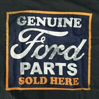 Ford Men's Large T-Shirt Parts Sold Here Licensed Motor Company Car Truck Logo