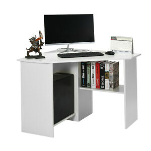 Corner Computer Desk PC Table Workstation Home Office Study Furniture