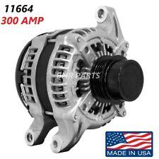 165 AMP 11176 Alternator Honda Civic 1.8L 06-11 High Output Performance HD NEW