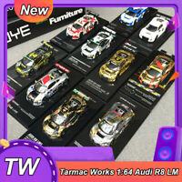 TW Tarmac Works 1:64 Scale Audi R8 LMS #5 #28 #16 Diecast Car Model NEW IN BOX