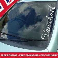 Vauxhall Windscreen Sticker Custom Text Window Vinyl Decal Corsa  Astra VXR JDM