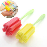 5 PC Kitchen Cleaning Tool Sponge Brush For Wineglass Bottle Coffe Tea Glass Cup