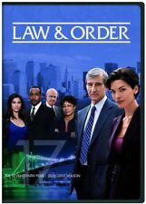 Law & Order: The Seventeenth Year [New DVD] Boxed Set, Snap Case
