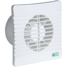 "Airvent Low Profile 4"" 100mm Slimline Extractor Fan Timer & Backdraught Shutters"
