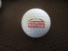 LOGO GOLF BALL-NCAA....CYCLONE GRIDIRON CLUB...IOWA STATE UNIVERSITY..DIFFERENT