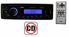 New Pyle PLR27MPBU AM/FM Radio MP3/iPod USB/SD Aux Car Receiver Audio Bluetooth