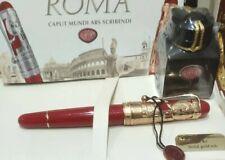 "Aurora 88 800-VR Fountain Pen  ""Roma"" Special Edition Vermeil"