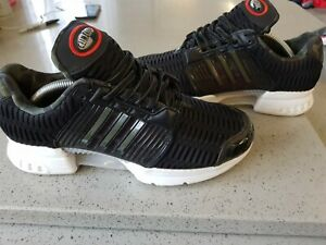 Adidas Climacool 1 Trainers UK 8 Black / Olive (Camo) BA7177 Good Condition