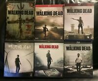 COFFRETS BLU-RAY SERIE HORREUR ZOMBIES : THE WALKING DEAD : SAISONS 1 2 3 4 5 6