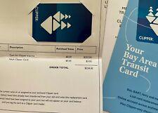 $255 Clipper Card SF Bay Area Transit System Travel (BART, VTA, Muni, Caltrain)