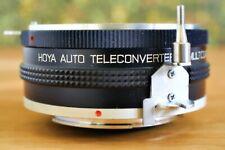 HOYA 2x AUTO TELECONVERTER FOR NIKON F MOUNT LENSES