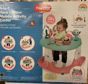 Tiny Love 4-in-1 Here I Grow Baby Walker & Mobile Activity Center Princess Tales
