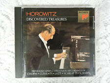 Horowitz: Discovered Treasures CD - Sony Classical