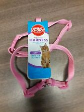 Great Choice Adjustable Harness For Cat New  Pink