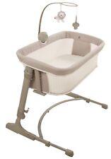 Arm's Reach Versatile Adjustable Infant Baby Co-Sleeper Bedside Bassinet Misty