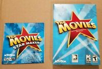 The Movies With Star Maker Addon PC CD-ROM Game 2005 Lionhead Studios