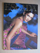Glossy ESCADA fashion Catalog CRUISE 2000 ASTRID Munoz *check more catalogs*