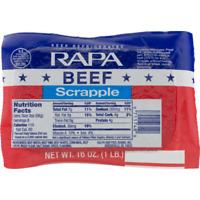 RAPA Beef Scrapple 16 Oz. (6 Pack)