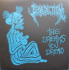 BENEDICTION The Dreams you Dread LP napalm death carcass entombed morbid angel