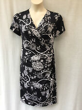 Stitches Petites Size 16 Dress Stretch Ruched Corporate Work Smart Casual Dinner