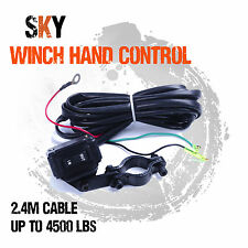 12V Winch Hand Held Remote Control Controller Switch for 4WD Boat ATV