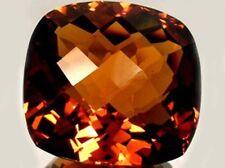 Cognac Citrine 37ct Sibérien Coupé Ancien Persia Romain Celt Cristal Sunshine