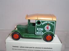 CORGI CAMEOS JOESPH LUCAS LTD KING OF THE ROAD MODEL T FORD VAN & BOX SEE PHOTOS
