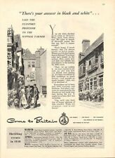 1947 Come to Britain  PRINT AD Travel Suffolk Farmer Events of 1948 Fun detailed