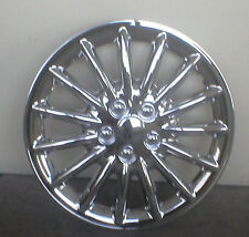 HUBCAP SET - 16 INCH - CHROME  ALLOY WHEEL LOOK