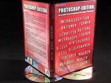 Adobe Photoshop CS & CC 2017 18- Zusätze Plugins Stile Aktionen Pinsel Fotos DVD