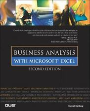 Business Analysis with Microsoft Excel (2nd Edition)